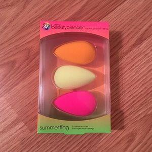 BeautyBlender Summer Fling Kit 3 Sponges LE NIB!